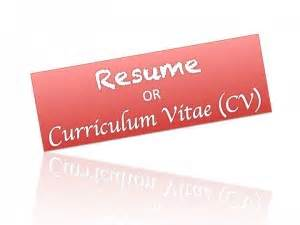 Diffrence between cv and resume